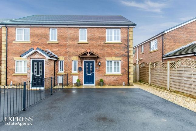 Thumbnail Semi-detached house for sale in Cysgod Y Gors, Gorslas, Llanelli, Carmarthenshire