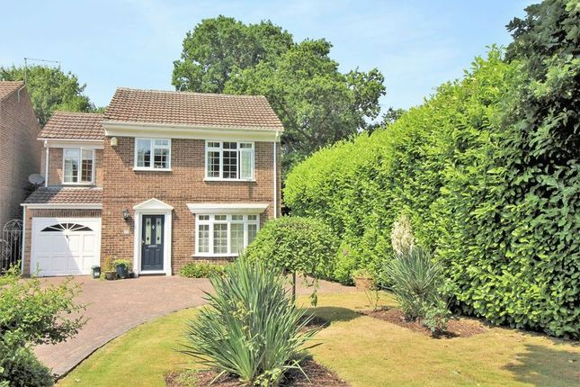 Thumbnail Detached house for sale in Richmond Close, Frimley, Camberley