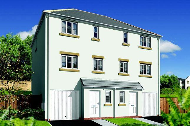 Thumbnail 3 bed semi-detached house for sale in The Kenwyn, Withnoe Farm, Launceston
