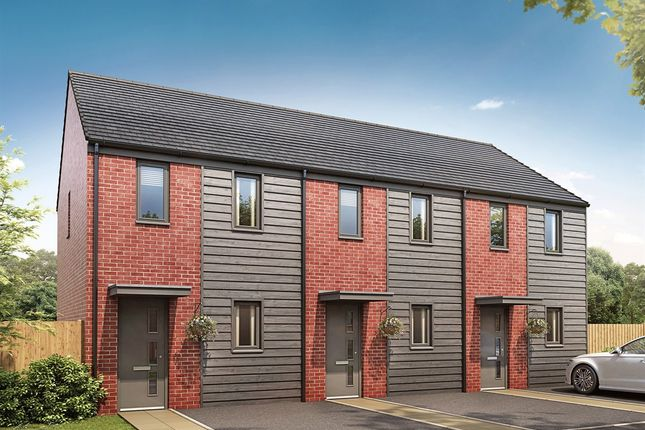 "Thumbnail End terrace house for sale in ""The Morden "" at Pinhoe, Exeter"