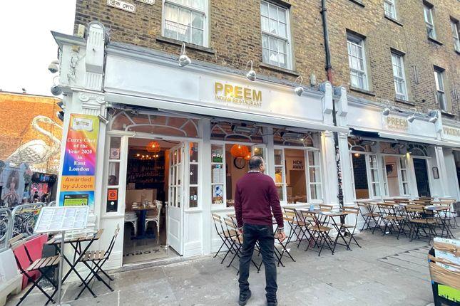 Thumbnail Leisure/hospitality to let in Brick Lane, London