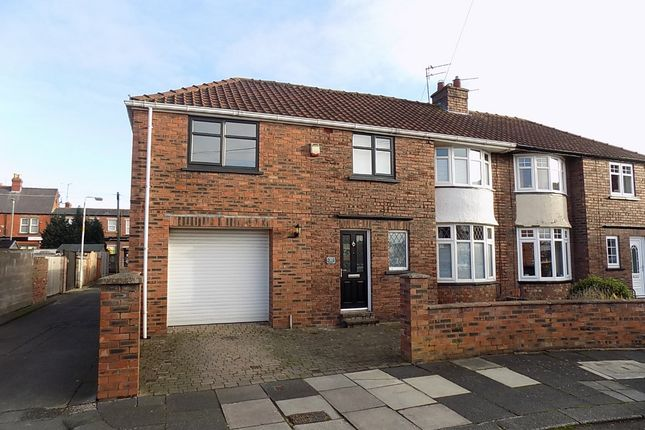 3 bed semi-detached house to rent in Brunton Crescent, City Centre, Carlisle CA1