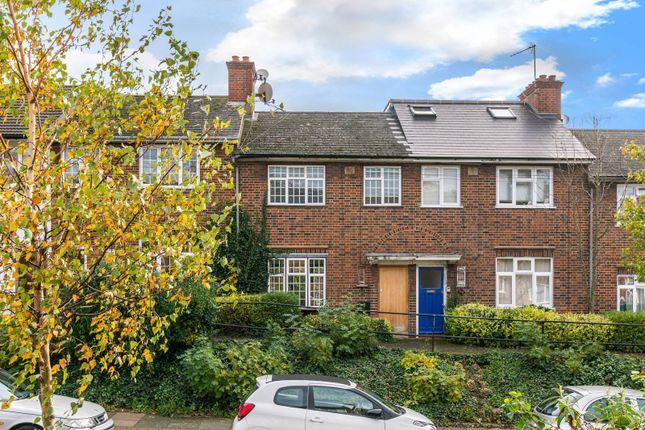 Thumbnail Terraced house to rent in Nimrod Road, Furzedown, London