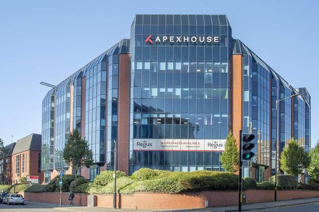 Office to let in Regus, Apex House, Birmingham, West Midlands