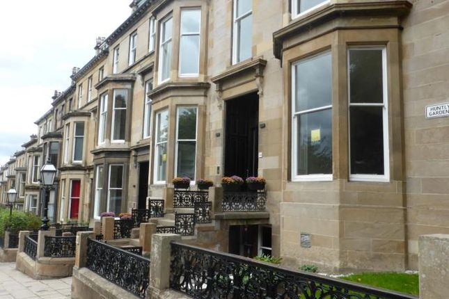 Thumbnail Flat to rent in Huntly Gardens, Glasgow