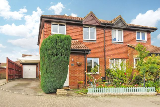 3 bed semi-detached house for sale in Dickens Court, Biggleswade SG18