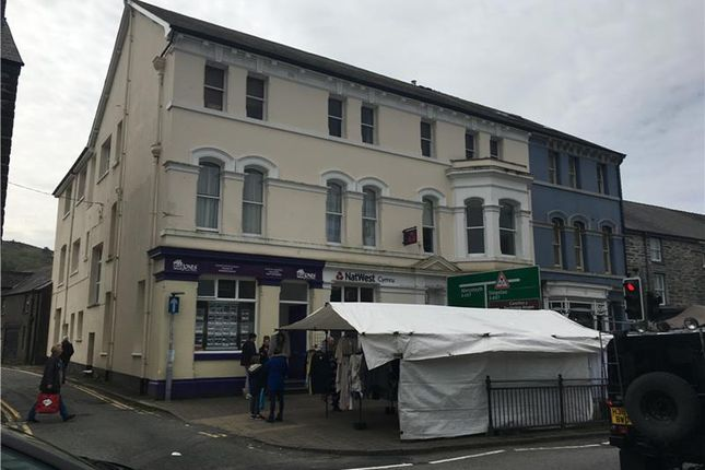 Thumbnail Retail premises to let in Bank Chambers - Former, 22-24, Heol Maengwyn, Machynlleth, Powys, Wales