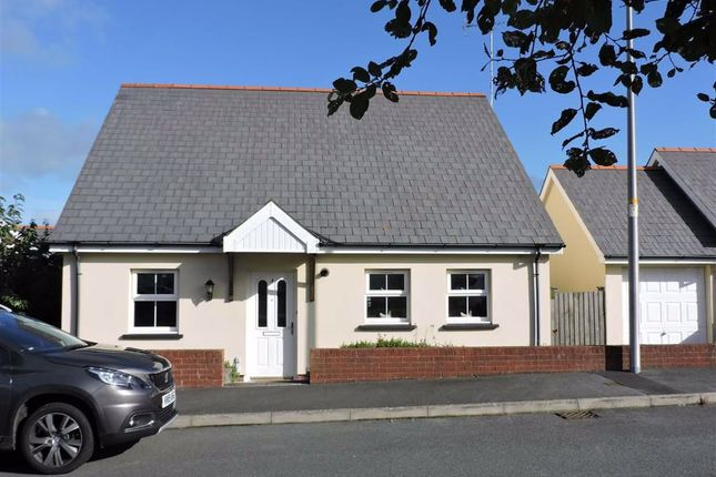Detached bungalow for sale in Maes Waldo, Fishguard