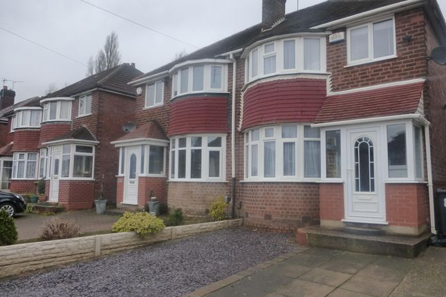 Thumbnail Semi-detached house to rent in Waddington Avenue, Great Barr, Birmingham