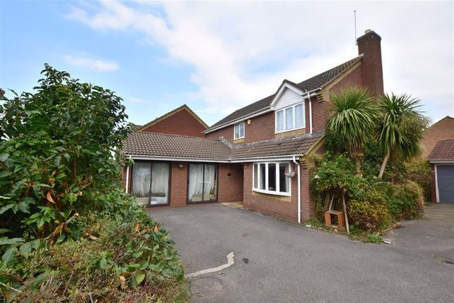 Thumbnail Detached house for sale in James Grieve Road, Abbeymead, Gloucester