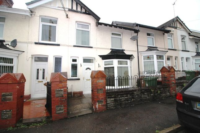 Thumbnail Terraced house to rent in Station Road, Ystrad Mynach, Hengoed
