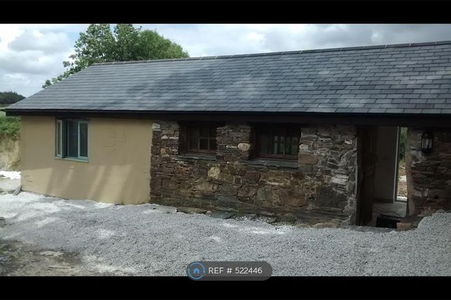 Thumbnail Bungalow to rent in Little North Down Farm, Callington
