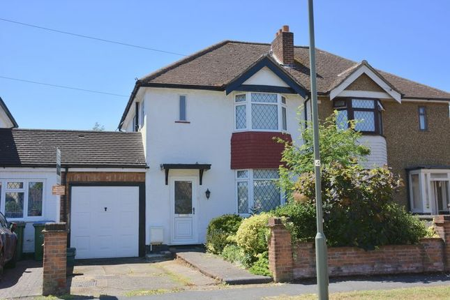 Thumbnail Semi-detached house for sale in Boleyn Drive, West Molesey