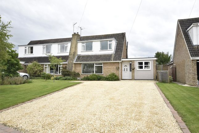 Thumbnail Semi-detached house for sale in The Lawns, Gotherington, Cheltenham, Gloucestershire