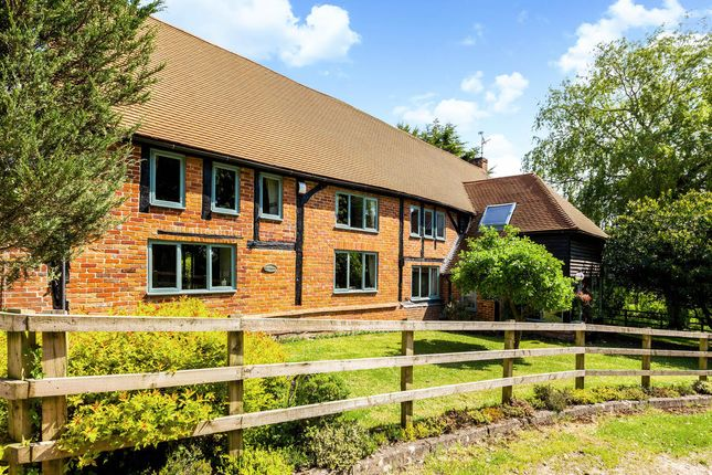 Thumbnail Detached house for sale in Clay Hill, Beenham, Reading
