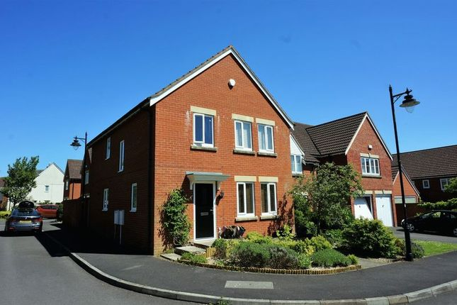 Thumbnail Detached house for sale in Cole Close, Cotford St. Luke, Taunton