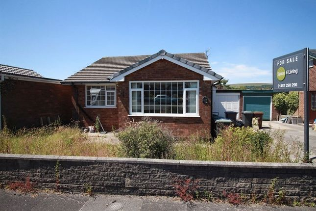 Thumbnail Bungalow for sale in Barleycroft, Hadfield, Glossop