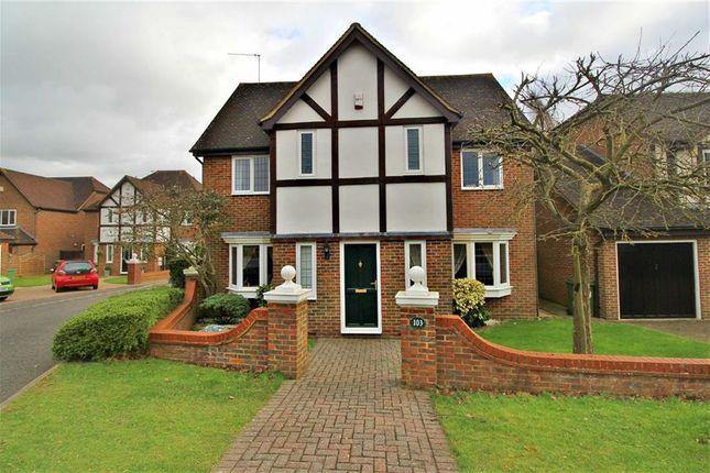 Thumbnail Detached house for sale in Walton End, Wavendon Gate, Milton Keynes