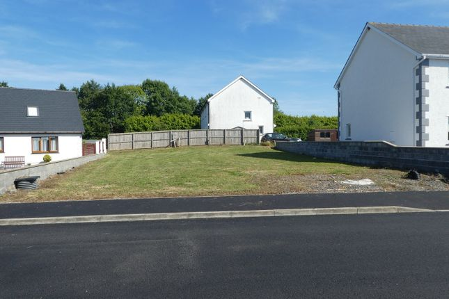 Thumbnail Land for sale in Cross Inn, New Quay