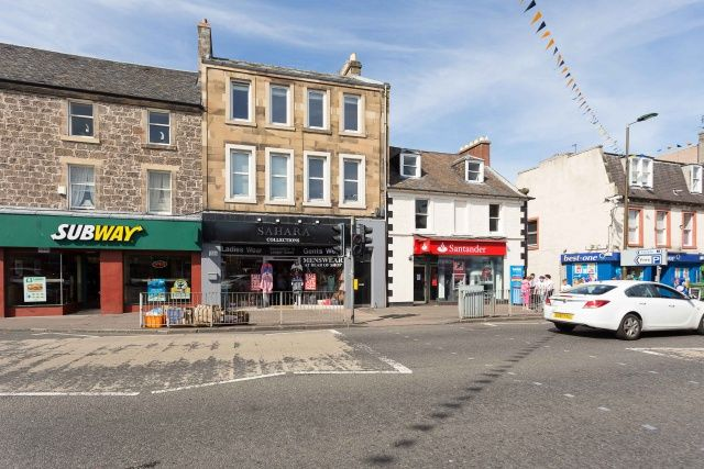 Thumbnail Flat for sale in High Street, Musselburgh, East Lothian
