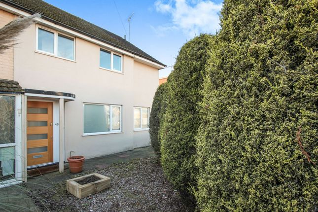 Thumbnail End terrace house for sale in Dallow Road, Luton