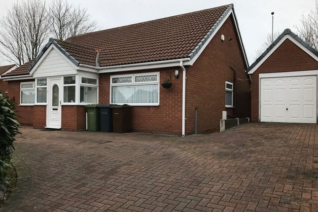 Thumbnail Detached bungalow to rent in Westover Close, Maghull, Liverpool