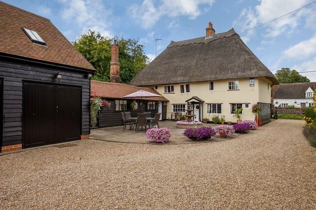 Thumbnail Detached house for sale in Middle Street, Clavering, Saffron Walden