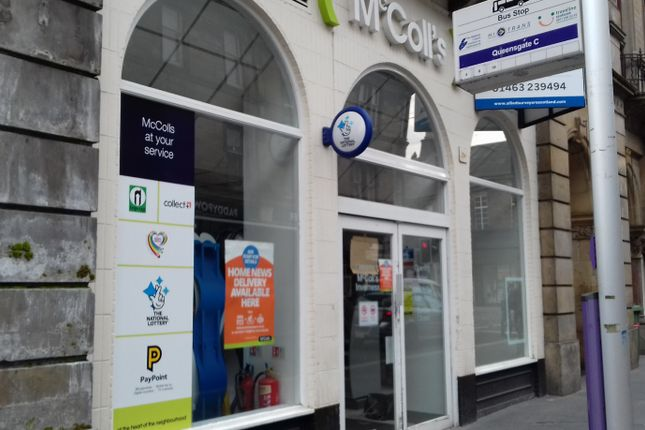 Thumbnail Retail premises to let in Queensgate, Inverness