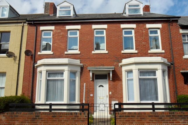 Thumbnail Terraced house to rent in Prudhoe Terrace, Tynemouth, North Shields