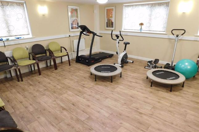 Communal Lounge, Gym, Laundry Room And It Room
