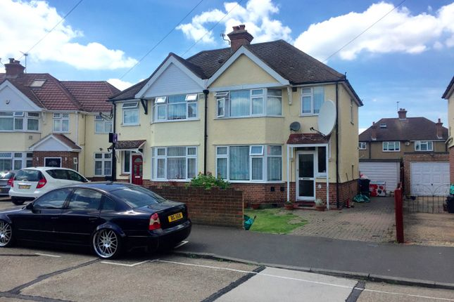 3 bed semi-detached house for sale in Iverna Gardens, Bedfont/Feltham