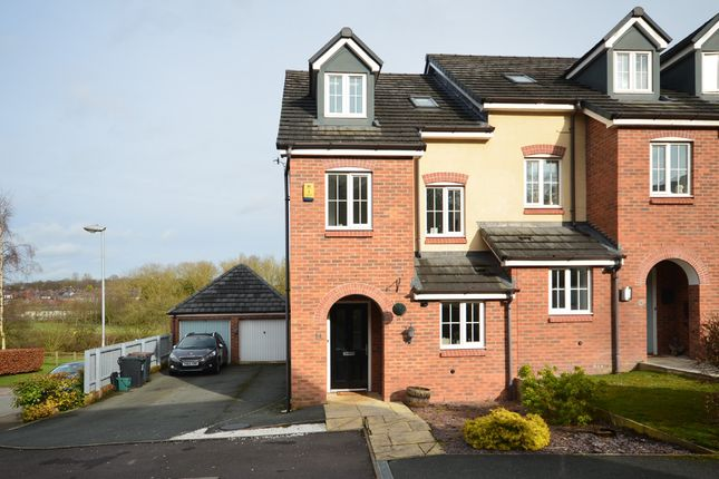 Thumbnail End terrace house for sale in Tansy Way, Clayton, Newcastle-Under-Lyme