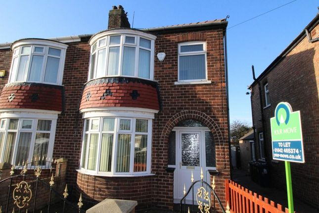 Thumbnail Semi-detached house to rent in Westbourne Grove, South Bank, Middlesbrough