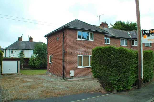 Thumbnail Semi-detached house for sale in Oakfield Road, Hawarden, Deeside