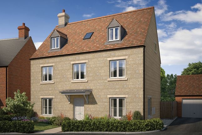 "Thumbnail Detached house for sale in ""The Lambourne"" at Stratford Road, Mickleton, Chipping Campden"