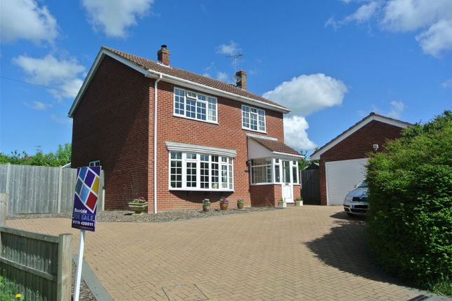 Thumbnail Detached house for sale in Dovecote Estate, Rippingale, Bourne, Lincolnshire