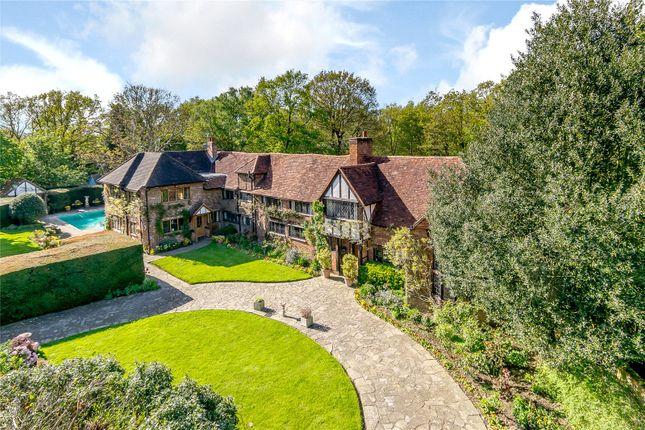 Thumbnail Detached house for sale in Austenwood Lane, Chalfont St Peter, Gerrards Cross, Buckinghamshire