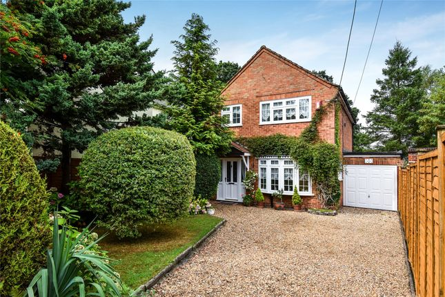 Thumbnail Detached house for sale in Darby Green Road, Blackwater, Camberley