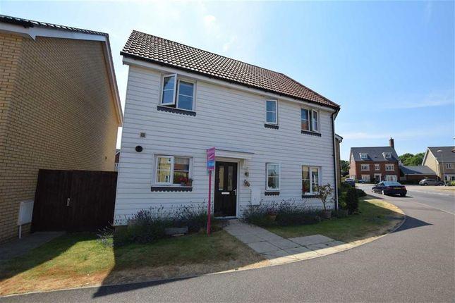 Thumbnail End terrace house for sale in School Avenue, Laindon, Basildon, Essex