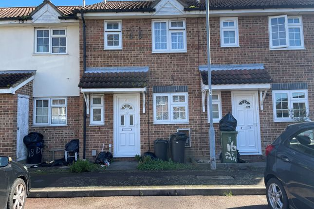 Thumbnail Terraced house for sale in Durham Place, Eton Road, Ilford
