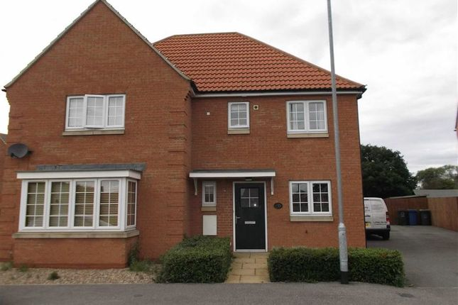 Thumbnail Semi-detached house to rent in Kingfisher Drive, Market Rasen