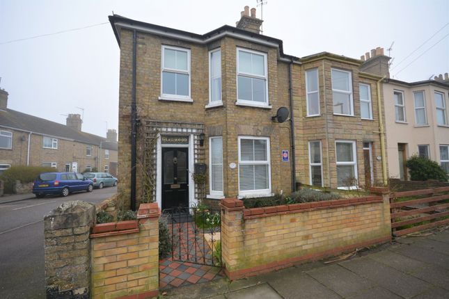 Thumbnail End terrace house to rent in Florence Road, Lowestoft, Suffolk