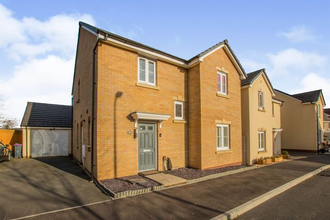Thumbnail Detached house for sale in Heol Y Groes, Coed Eva, Cwmbran