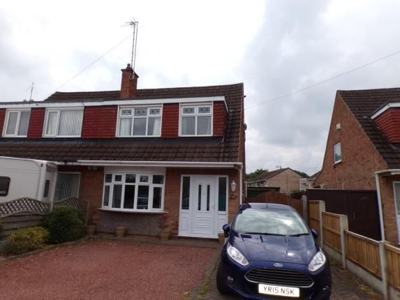 Thumbnail Semi-detached house for sale in The Downs, Silverdale, Nottingham