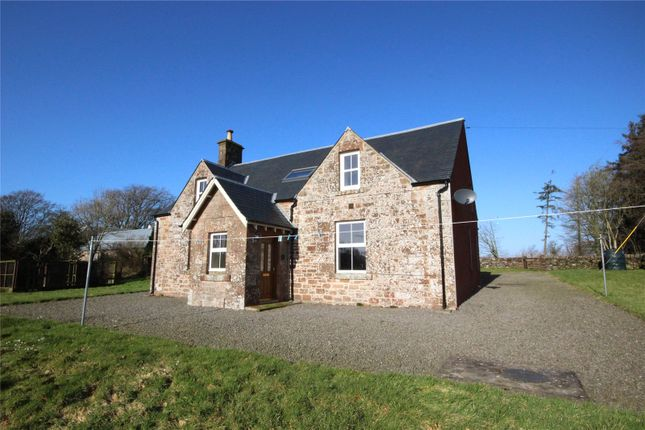 Thumbnail Detached house for sale in Bogrie Farmhouse, Canonbie, Dumfries And Galloway