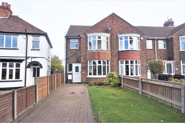 Thumbnail End terrace house for sale in Clee Crescent, Grimsby