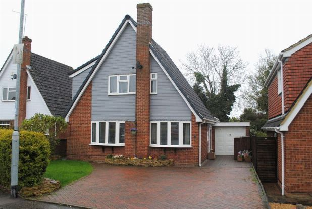 Thumbnail Detached house for sale in Falcutt Way, Kingsthorpe, Northampton