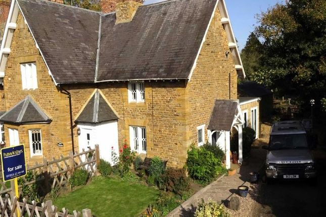 Thumbnail End terrace house for sale in Sywell, Northampton