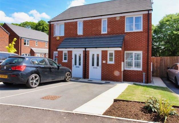 Front of Hurricane Avenue, Woodhouse, Sheffield S13