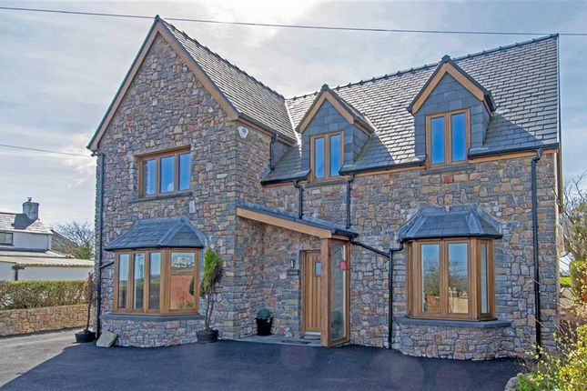Thumbnail Detached house for sale in Tirmynydd Road, Fairwood, Gower
